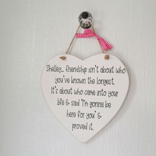 Friendship Isn't About Who You've Known The Longest - Keepsake Heart